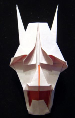 ワイルドヒーローズでの折り紙「はんにゃ」の折り方
