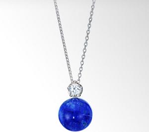 【マザーゲーム】安達祐実がつけていた青色ヘッドのネックレス