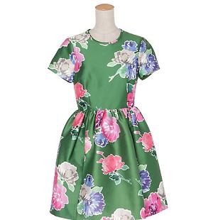 【マザーゲーム】貫地谷しほり着用の緑色の花柄ワンピースはコレ!