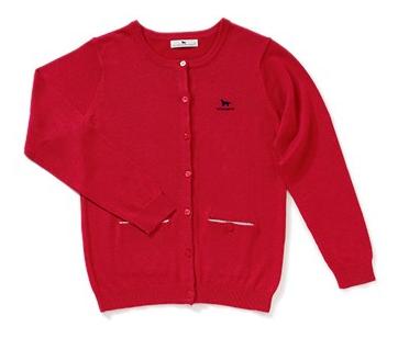 マザーゲームで木村文乃が着ていた赤色のカーディガン