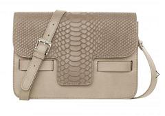 LILI RADU(リリー・ラドゥ)Lili's Python Print Shoulder Bag