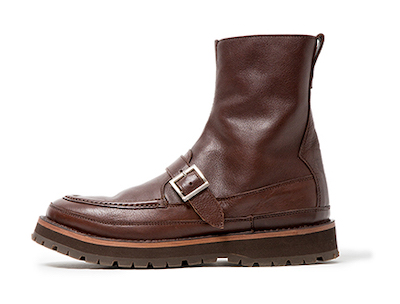 HUNTER ZIP UP BOOTS COW LEATHER