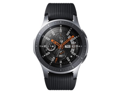 Galaxy Watch 46mm シルバー Samsung スマートウォッチ iOS/Android対応 SM-R80010118JP