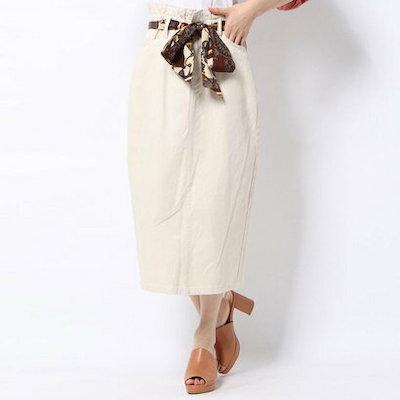 RETROGIRL(レトロガール)スカーフベルト付ナロースカート