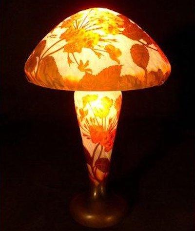 ステンドグラスランプガレ調ランプ