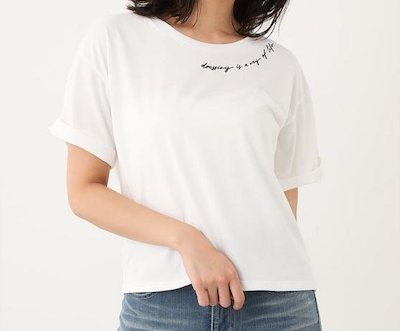 rienda(リエンダ)dressing logo T/SH