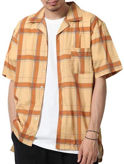 半袖オープンカラーシャツ  ZIP FIVE(ジップファイブ)