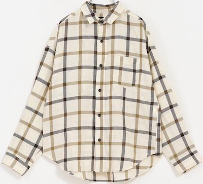 CUBE SUGAR先染めガーゼツイル レギュラーシャツ