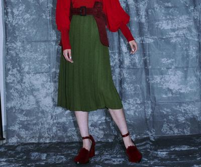 PAMEO POSE(パメオポーズ)Gun Belt Skirt