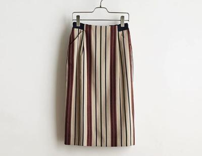 STELLACIFFONStripe jacquard Skirt