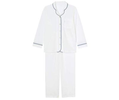 Wacoal(ワコール)睡眠科学 ふわごころ ワッフル パジャマ上下セット ラムコ 綿100%