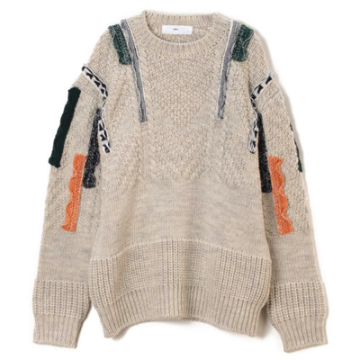 TOGA VIRILISCable knit pullover