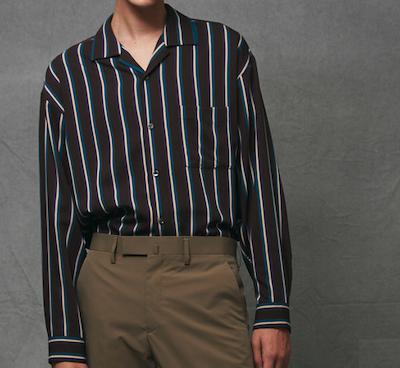 MAISON SPECIAL(メゾンスペシャル) 'MANTECO/マンテコ' オープンカラーシャツ