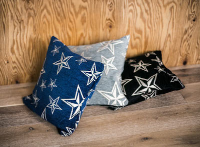 STAR CUSHION COVER 45