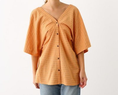 RODEO CROWNS WIDE BOWL(ロデオクラウンズワイドボウル)カシュクール 2wayシャツ
