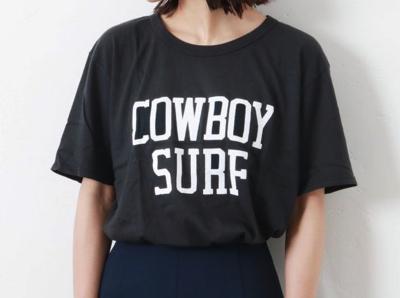 JOURNAL STANDARD(ジャーナルスタンダード レサージュ)【RXMANCE /ロマンス】COWBOY SURF TEE:Tシャツ