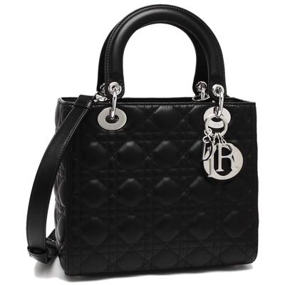 Dior(ディオール)ハンドバッグ ショルダーバッグ レディース Dior CAL44551 LAMB N0 ブラック
