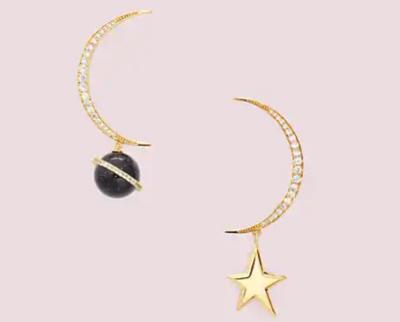 Kate Spade New York(ケイト・スペード ニューヨーク)on the rocks asymmetrical earrings(オン ザ ロック アシンメトリカル ピアス)