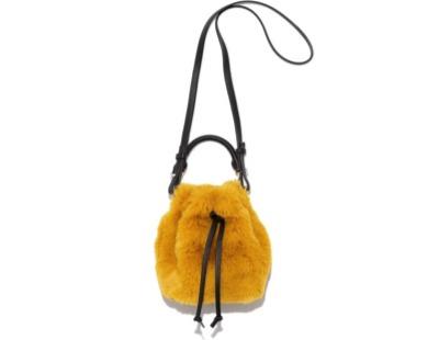 MilaOwen(ミラオーウェン)エコファーミニバケットバッグ