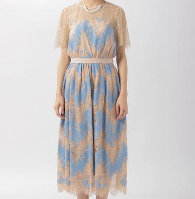 Andemiuシアーレースドレス