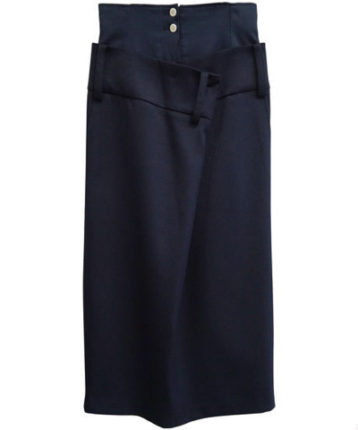 SALT+ 19AW WAIST DRAPE SKIRT