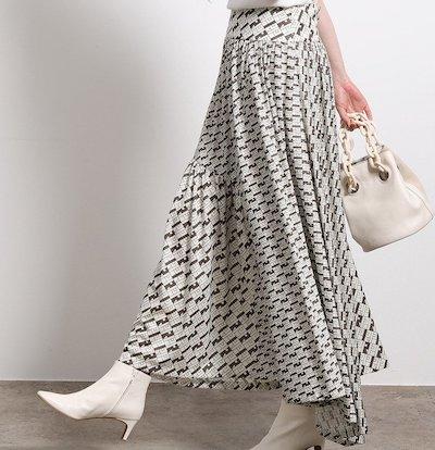 ROPE'(ロペ)モノグラムジャージースカート