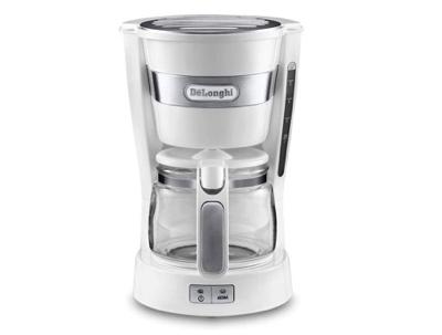 DeLonghi(デロンギ)コーヒーメーカー アクティブシリーズ トゥルーホワイト ICM14011J-W