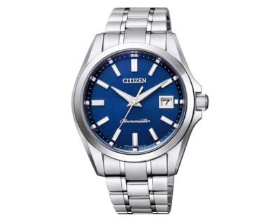 THE CITIZEN(ザ・シチズン)腕時計 高精度 年差エコ・ドライブ スーパーチタニウムモデル 和紙文字板 AQ4030-51L