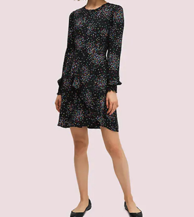 kate spade new york(ケイト・スペード・ニューヨーク)コンフェッティ チア スモック ドレス