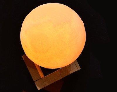 月 地球 間接照明 LED ライト