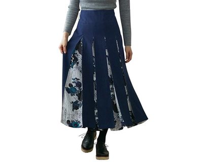 FURIFU(ふりふ)ボックスプリーツスカート