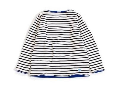 ORCIVAL(オーシバル)コットンロード フリースライニング バスクシャツ