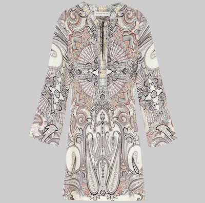 ETROPAISLEYプリント チュニックドレス