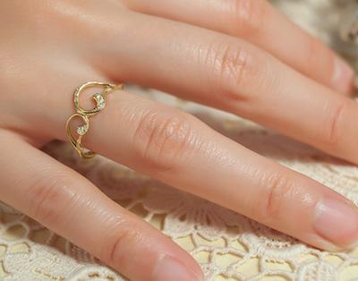 ileava jewelry光のトレイル