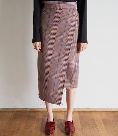sodukfringe finition skirt / mix