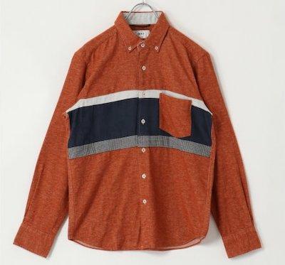 ikka(イッカ)ネルパネルキリカエシャツ