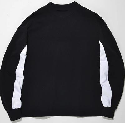 SUPERTHANKS (スーパーサンクス) スウィッチングテールビッグロングTシャツ