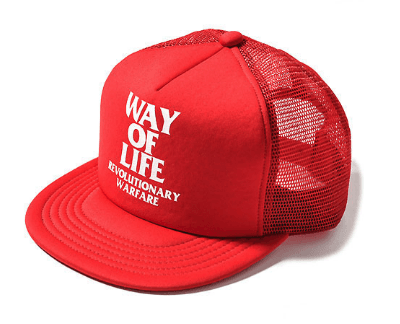 RATS WAY OF LIFE MESH CAP