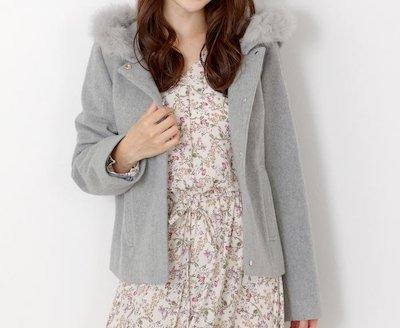 MEW'S REFINED CLOTHES(ミューズ)フード付き2WAYショートコート