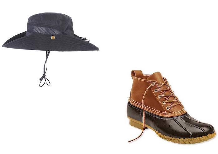 ひとりキャンプで食って寝る9話 鈴村課長(田口トモロヲ)のアウトドアファッションはコレ!靴 帽子・ハット等