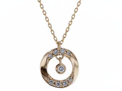 festaria bijou SOPHIA(フェスタリア ビジュソフィア)K10イエローゴールド ダイヤモンド ペンダント