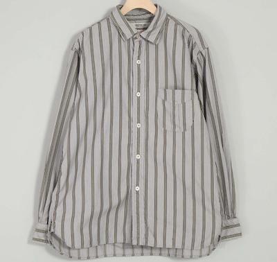 OMNIGOD(オムニゴッド) サテンストライプ ユニフォームシャツ