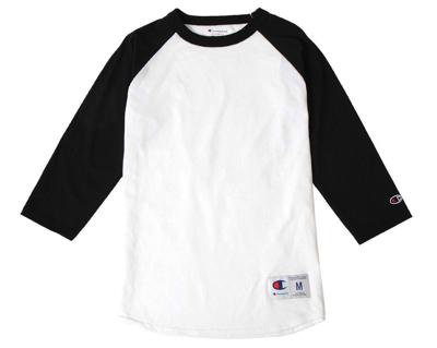 Champion(チャンピオン)Tシャツ ラグラン 5.2oz メンズ レディース クルーネック 7分袖
