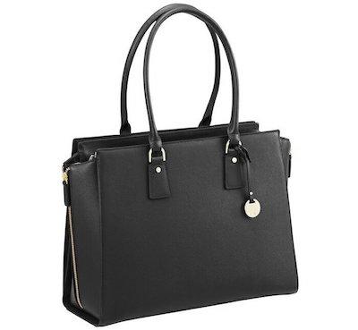 ace.(エース) エクセロート 黒 ネイビー ブルー|PC収納 レディースビジネスバッグ ハンドバッグ A4サイズ