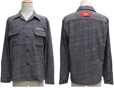 CREAM SODA(クリームソーダ)CSスラブネップフラップポケットシャツ