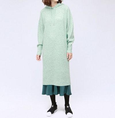 LOVELESS(ラブレス)パーカーニットドレス