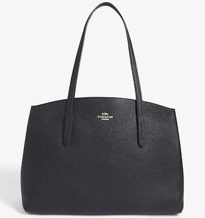COACH(コーチ) Charlie leather tote bag(トートバッグ)