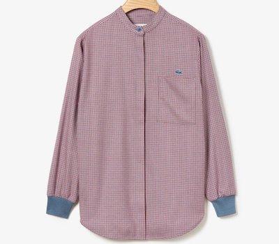 LACOSTE(ラコステ)ハウンドトゥースマオカラーシャツ