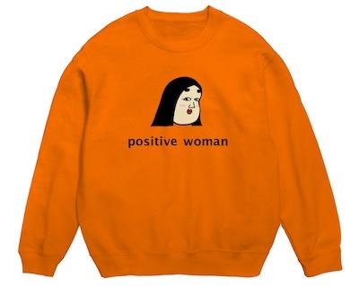 SUZURIpositive woman 式部 スウェット