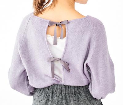 flowerdream puff knit ~ドリームパフニット